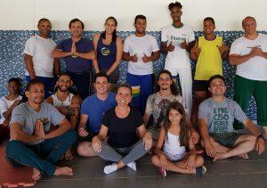 Meditação grupo capoeira